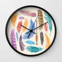 Sky Gods Wall Clock