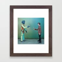 Time Lord Bounty Framed Art Print