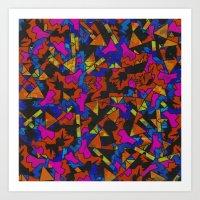 Op Ning A Supermodel Fro… Art Print