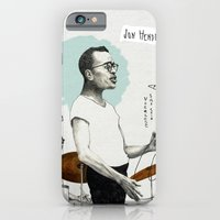 iPhone & iPod Case featuring ANALOG zine - Vocalese Sax Solo by Meegan Barnes