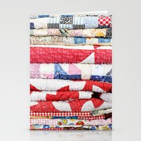 Vintage Quilts Stationery Cards
