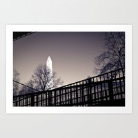 Look Up! Art Print