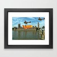 Houses Of Parliament Lon… Framed Art Print