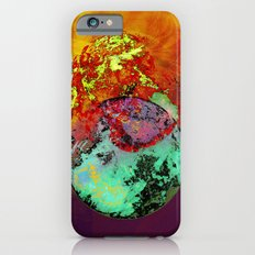 old map of a foreign world far away iPhone 6s Slim Case