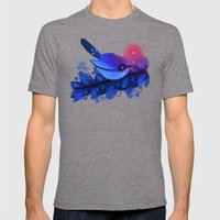 Blue Bird Mens Fitted Tee Tri-Grey SMALL