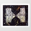 Aspen Hourglass Art Print
