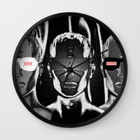 Sent & Received Wall Clock