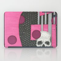 Pink Skull G iPad Case