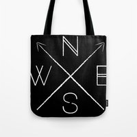 H&S: Directional Tote Bag