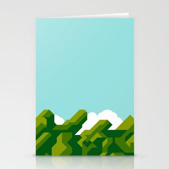 Super Mario World Stationery Card