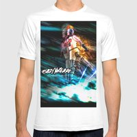 Space Jams Mens Fitted Tee White SMALL