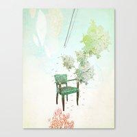 Esperando Canvas Print