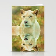 LIONESS LOVE Stationery Cards