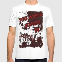 HorrorVille 13 B-movie F… Mens Fitted Tee White SMALL