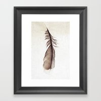 Feather Photograph: Ephe… Framed Art Print