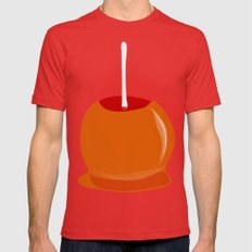 Toffee Apple Mens Fitted Tee Red SMALL
