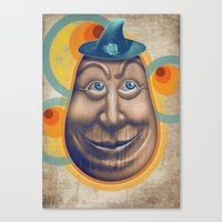 Tentetieso Sonriente Canvas Print