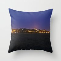 Lincoln At Dusk Throw Pillow