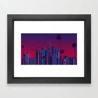 Los Angeles, Live! Framed Art Print