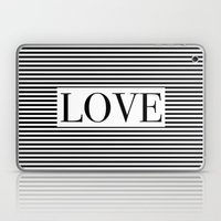 Monochromatic Love Laptop & iPad Skin