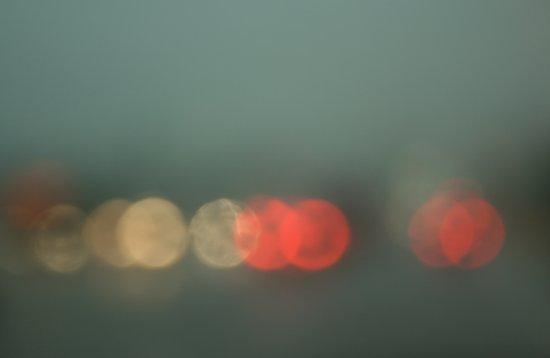 Brake Lights. Art Print