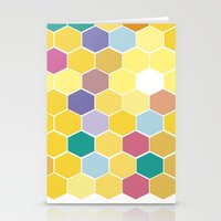 Honey Comb turns Zesty Stationery Cards