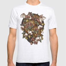 Botanica Mens Fitted Tee Ash Grey SMALL