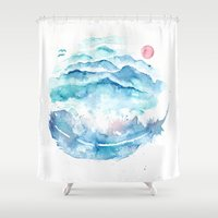 As If the World I Carry Could Crush Me Shower Curtain