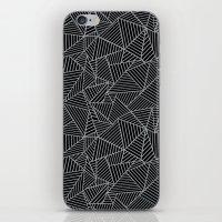 Ab 2 R Black and Grey iPhone & iPod Skin