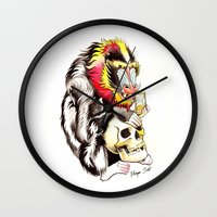 Mandril Wall Clock