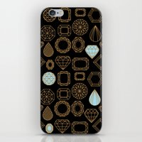 Gems #3 iPhone & iPod Skin