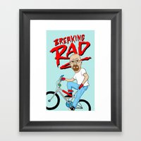 Breaking Rad Framed Art Print