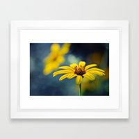 A thing of beauty.. Framed Art Print