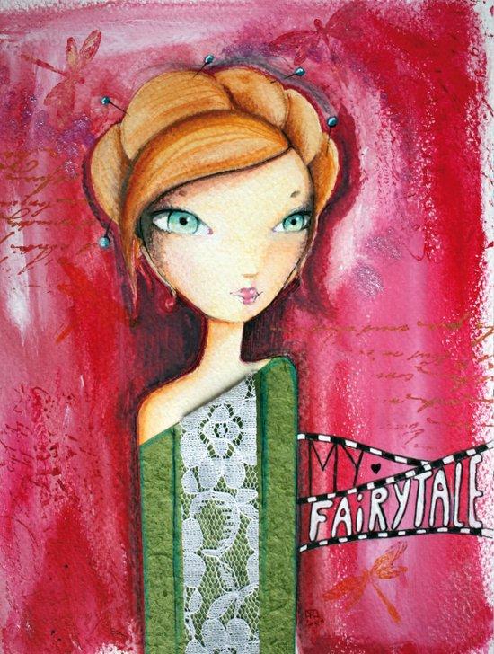 My fairytale Art Print