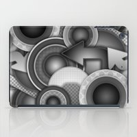 Monochrome Mayhem  iPad Case