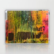 Ask What...? Laptop & iPad Skin