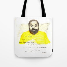Quickly - Bored to Death Tote Bag