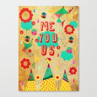Just You  Canvas Print