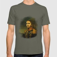 Tim Minchin - replaceface Mens Fitted Tee Lieutenant SMALL