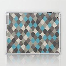 Harlequin Grey Laptop & iPad Skin