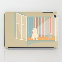 Catching some morning sun iPad Case