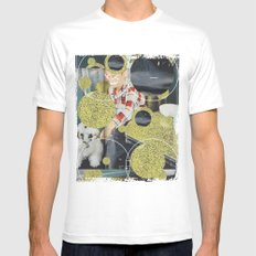PONY Mens Fitted Tee White SMALL
