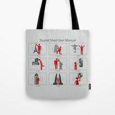 Tourist Shot User Manual Tote Bag