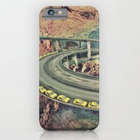 iPhone & iPod Case featuring highway by Caroline A