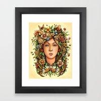 Mother Nature's Daughter Framed Art Print