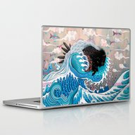 Laptop & iPad Skin featuring The Unstoppabull Force by Mat Miller