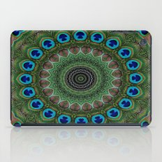 Peacock Abstract iPad Case