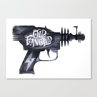 Old Fangled Canvas Print