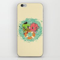 The Pond Lovers - Mr. Fr… iPhone & iPod Skin