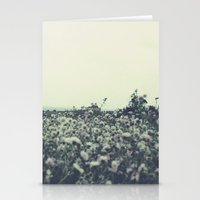 Sicily flowers Stationery Cards